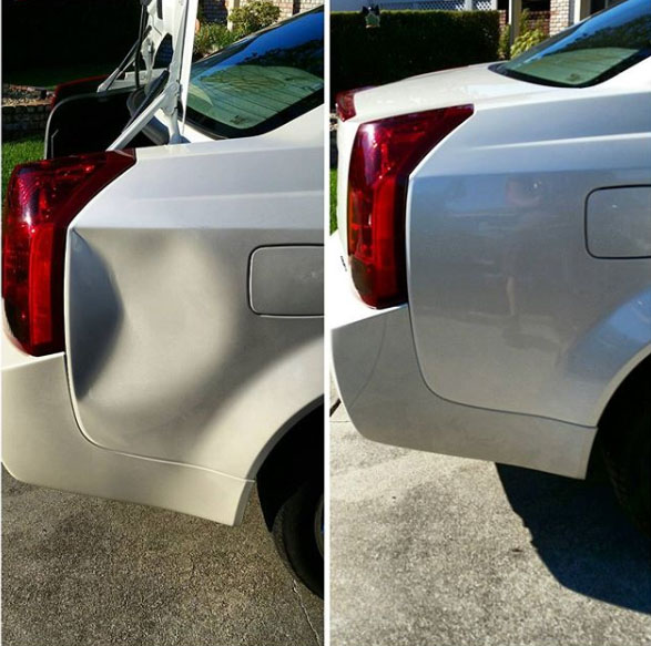 Mill Valley Mobile Paintless Dent Repair, Bumper Repair and Clear Armour Paint Protection